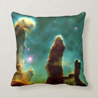 The Pillars of Creation Throw Pillow