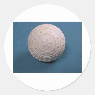 The Pimple Ball Classic Round Sticker
