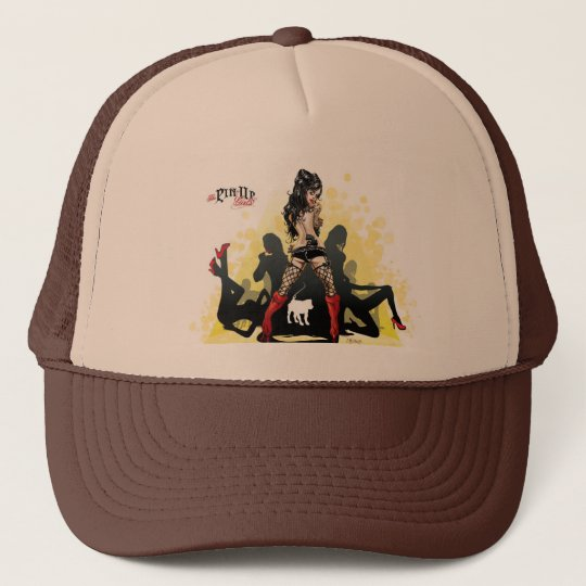 The Pin Up Girls two tone Color Trucker Hat