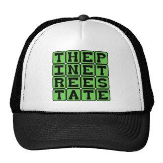 The Pine Tree State, Maine Nickname Mesh Hats