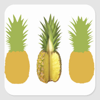 The Pineapple Incident Square Sticker