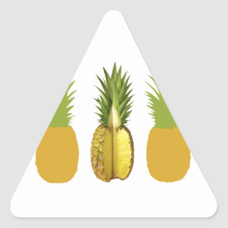 The Pineapple Incident Triangle Sticker