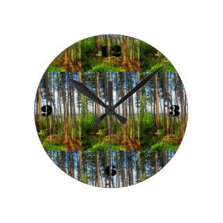 The Pines Medium Clock
