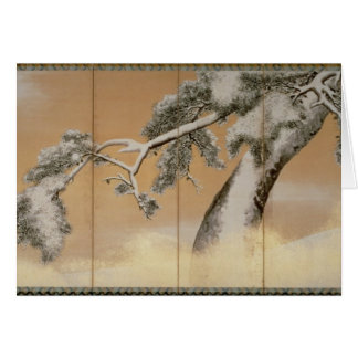 The Pines under Snow Card