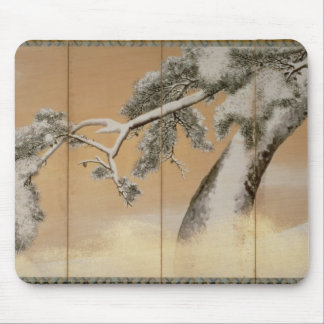 The Pines under Snow Mouse Pad