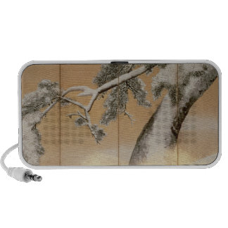 The Pines under Snow Portable Speakers