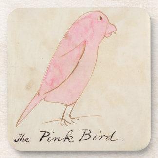 The Pink Bird, from 'Sixteen Drawings of Comic Bir Drink Coaster