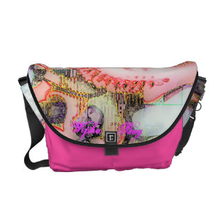 The Pink Buddha Bag Courier Bags