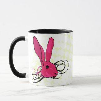The Pink Bunny  Rabbit Mug