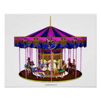 The Pink Carousel Poster