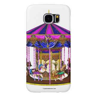 The Pink Carousel Samsung Galaxy S6 Cases