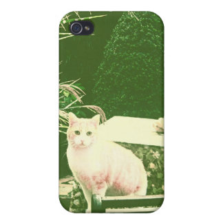 The pink cat iPhone 4/4S case