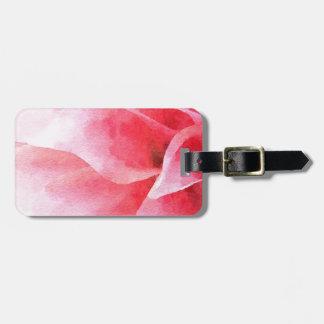 The Pink Dahlia Bag Tag