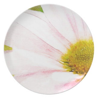The Pink Daisy Dinner Plate