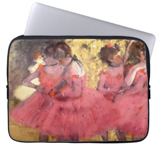 The Pink Dancers, before the Ballet by Degas Computer Sleeves
