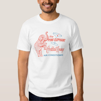 The Pink Elephant Cocktail Lounge Retro Shirt