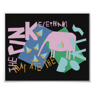 The Pink Elephant That Ate The Boats Poster