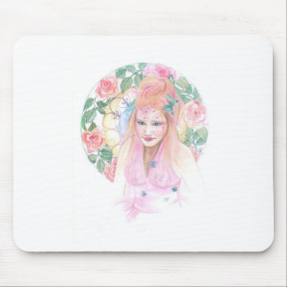 The Pink Fairy Mouse Pad