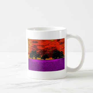 THE PINK FIELD COFFEE MUG