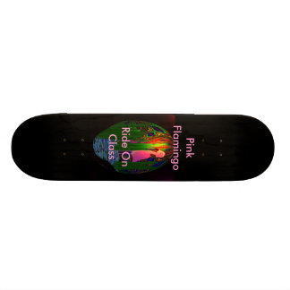 The Pink Flamingo Skateboard