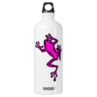 THE PINK FROG ALUMINUM WATER BOTTLE