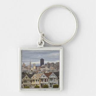 The Pink Ladies Victorian style houses in the Keychain