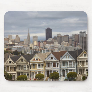 The Pink Ladies Victorian style houses in the Mouse Pad