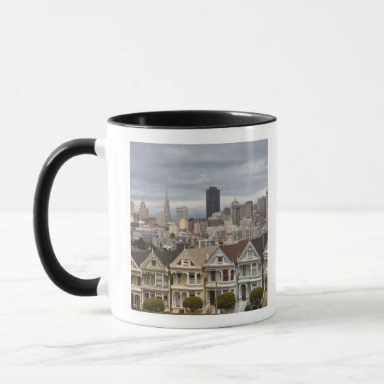 The Pink Ladies Victorian style houses in the Mug