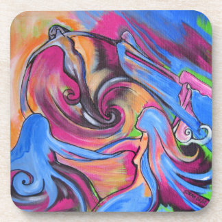 The Pink Moon Lovelies coasters