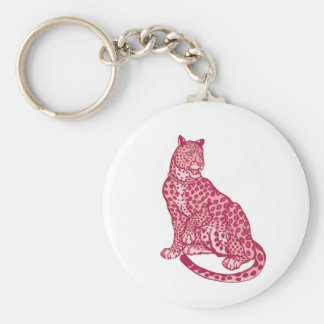 The Pink Panthers Keychain