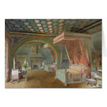 The Pink Room in the Chateau de Roquetaillade Cards