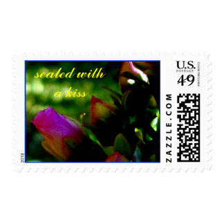 The Pink Rose - Stamps