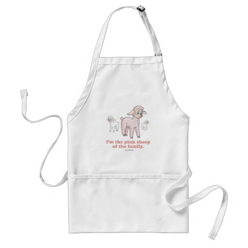 THE PINK SHEEP APRON