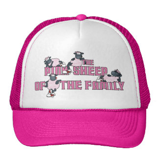 The Pink Sheep Hat