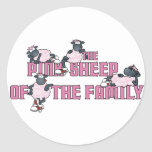 The Pink Sheep Sticker