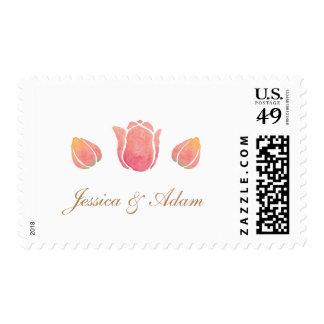 The Pink Tulip Wedding Postage