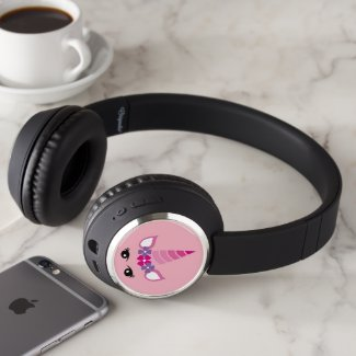 The Pink Unicorn Headphones