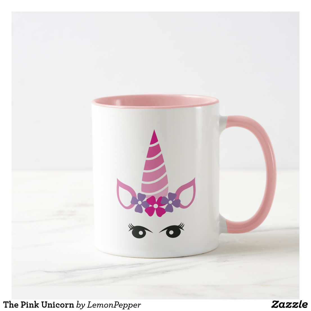 The Pink Unicorn Mug