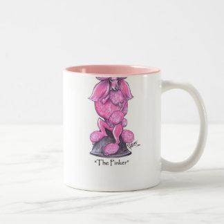 The Pinker Breast Cancer Poodle Mug