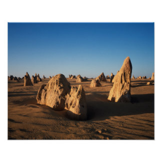 The Pinnacles desert Nambung National Park Poster