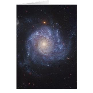 The Pinwheel Galaxy Messier 101 NGC 5457 Card