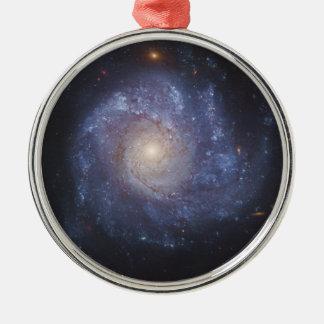 The Pinwheel Galaxy Messier 101 NGC 5457 Metal Ornament