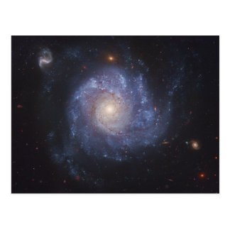 The Pinwheel Galaxy Messier 101 NGC 5457 Postcard