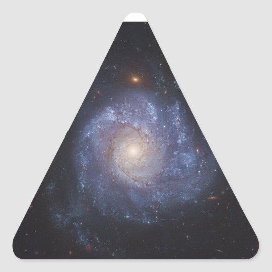 The Pinwheel Galaxy Messier 101 NGC 5457 Triangle Sticker
