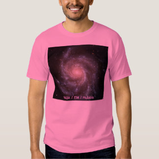 The Pinwheel Galaxy, NASA / ESA / Hubble Tshirt