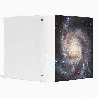The Pinwheel Galaxy NGC 5457 Messier 101 3 Ring Binder
