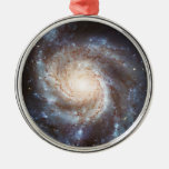 The Pinwheel Galaxy NGC 5457 Messier 101 Christmas Tree Ornaments