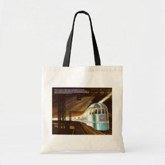 The Pioneer Zephyr 1934 Budget Tote Bag