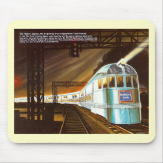 The Pioneer Zephyr 1934 Mouse Pad