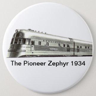 The Pioneer Zephyr 1934 Pinback Button